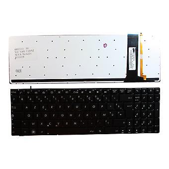 Asus N56V Backlit Black French Layout Replacement Laptop Keyboard