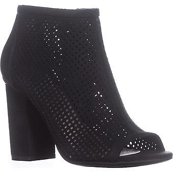 Bar-III Stiefel Womens Megan Stoff zehenoffenen Knöchel Mode