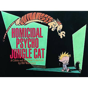 القط الغابة النفسي القاتل من بيل ووترسون-كتاب 9780836217698