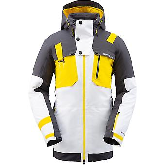 Spyder TORDRILLO Men's Gore-Tex Primaloft Ski Jacket White