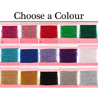 10m Glitter Thread for Crafts   Twine Cord & Elastic for Crafts