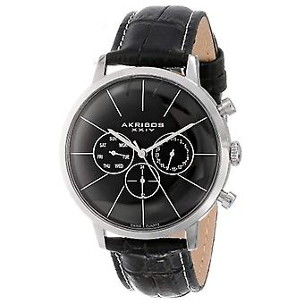AK647SS-Akribos męskie zegarek na rękę
