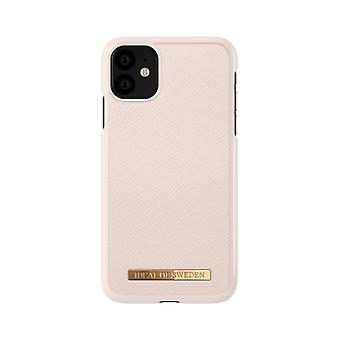iDeal Of Sweden iPhone 11 Saffiano Shell-Beige