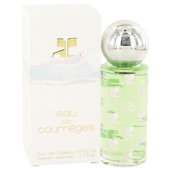 Eau de courreges eau de toilette spray by courreges 412504 50 ml