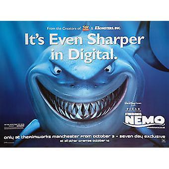 Finding Nemo (Sharper) Original Cinema Poster