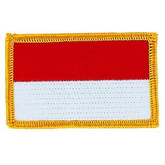 التصحيح Ecusson برود العلم موناكو الشارة الحرارية بلاسون