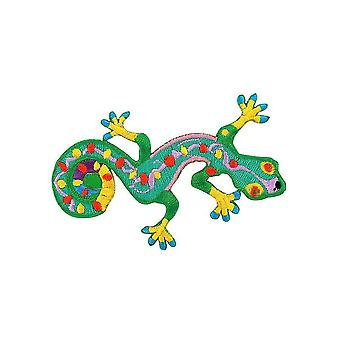 Aufnäher Brode Flagge Rucksack Gecko Salamandre Lezard Thermocollant R1