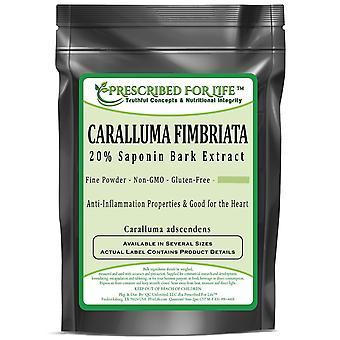 Caralluma fimbriata-20% saponin pó padronizado extrato de casca (10:1 P.E.)
