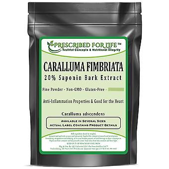 Caralluma Fimbriata-20% saponine gestandaardiseerde schors extract poeder (10:1 I.E.)
