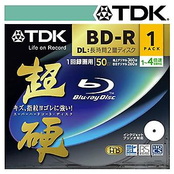 TDK 4x Blu Ray BD-R 50 Gb Double Couche
