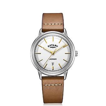 Rotary GS05340-02 White Avenger Wristwatch
