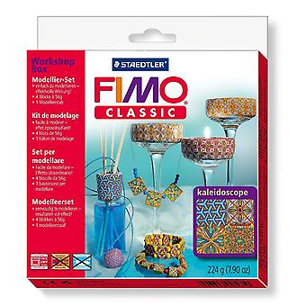 Staedtler Fimo Classic 8003 34 L1 Modelling Clay Kaleidoscope