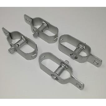 Wire Fence Tensioner Xtra Heavy Duty 4 Pack - Natural Galvanised