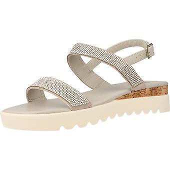 Gele winkel sandalen Londen kleur ijs