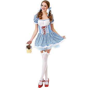Kansas Belle Adult Costume, M