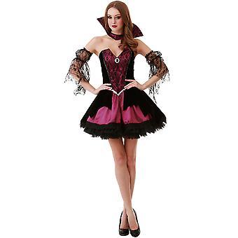 Voluptuous Vampire Adult Costume, M