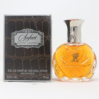 Safari by Ralph Lauren Eau De Parfum 2.5oz/75ml Spray Vinatage