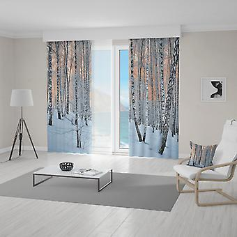 Meesoz Draperieën (2pcs) - Winter Trees