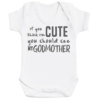 Jos luulet ' m söpö sinun pitäisi nähdä minun jumaläiti vauva Bodysuit