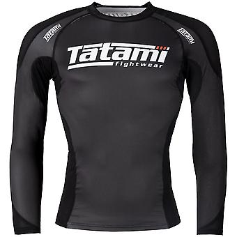 Tatami Fightwear Technical Long Sleeve Rashguard - Schwarz