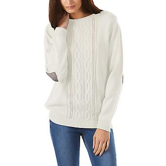 Sugarhill Boutique Femme-apos;s Lena Heart Sleeve Sweater