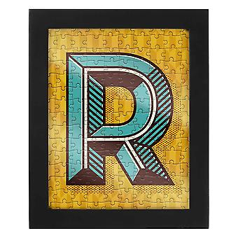 Letter R Jigsaw & Frame by Ridley?s
