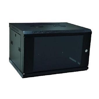 Wandopbouw Rack behuizing WP WPN-VZG-06605-6 U 600 x 500 x 370 mm zwart