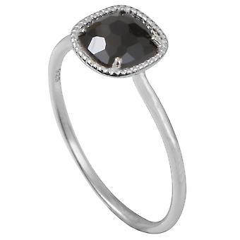 Clio Blue BA1060O ring - ring Sissi II Black Silver woman