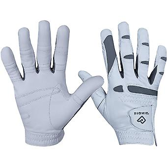 Bionic Men's Right Hand Performance Grip Pro Golf Glove - White