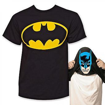 I Am Batman Flip Men's Black T-Shirt
