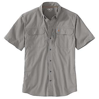 Carhartt Men's Short Sleeve Shirt Force Woven