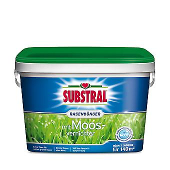SUBSTRAL® lawn fertilizer with moss destroyer, 5 kg