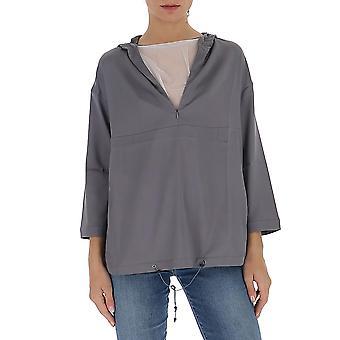 Fabiana Filippi Tpd260b158c0638134 Women's Grey Cotton Sweater