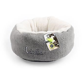 AFP 遺構まろやかな Catzilla (寝具、ベッド、猫)