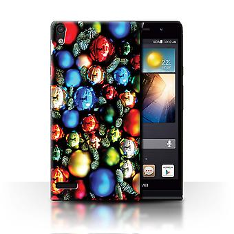 STUFF4 Case/Cover for Huawei Ascend P6/Tree Decorations/Christmas Photo