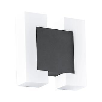 Eglo Sitia - LED Outdoor Flush Wall Light Antraciet IP44 - EG95988