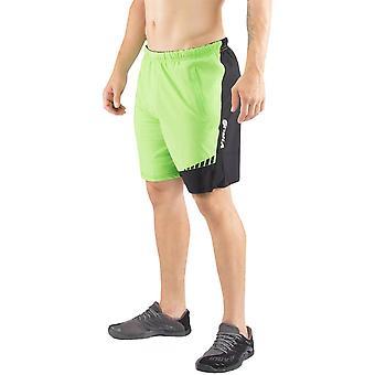 Virus ursprung vistelse svala Flex linning aktiva Shorts - Lime/svart