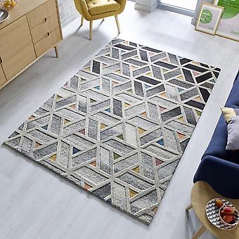 River Wool tapijten in meerkleurige uit de Moda collectie
