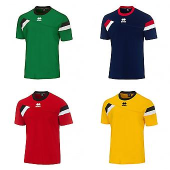 Errea Mens Falkland Short Sleeve Football Sport Shirt