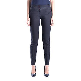 Isola Marras Ezbc255013 Women's Black Cotton Pants