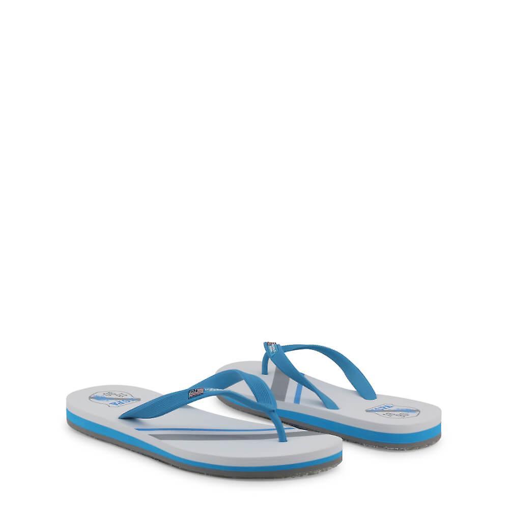 U.S. Polo Assn. Original Men Spring/Summer Flip Flops - Witte Kleur 33703 nC7KNd
