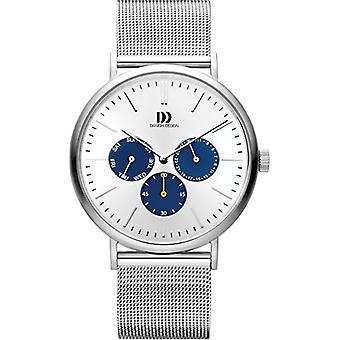 Danish Design men's Multi-dial quartz men with stainless steel strap IQ62Q1233