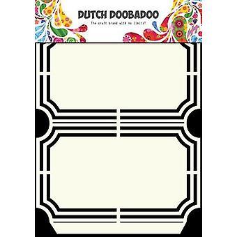 Dutch Doobadoo Dutch Shape Art frames ticket packing A5 470.713.129