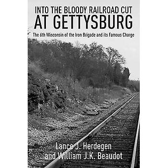 In the Bloody Railroad Cut at Gettysburg - The 6th Wisconsin of the Ir
