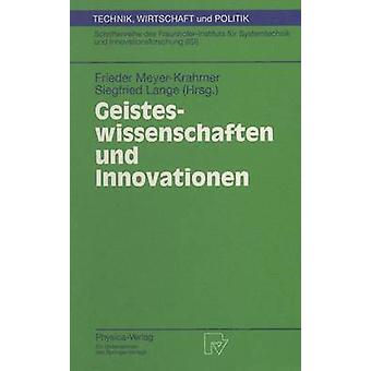 Geisteswissenschaften und Innovationen by MeyerKrahmer & Frieder
