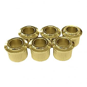Gotoh 10mm Conversion Bushing For Gotoh Sd90 And Sd91 Series Tuning Machines (set Of 6)