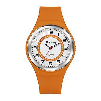 Tekday 654656 - Silicone Orange Women's Silicone Case