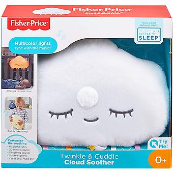 Fisher Price GJD44 Twinkle and Cuddle Cloud Soother