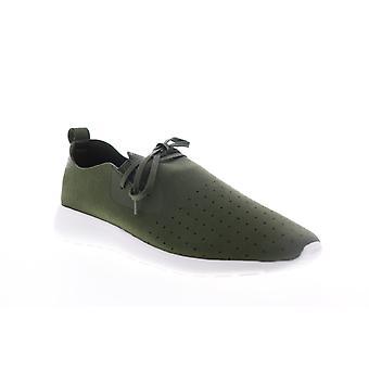 Robert Wayne Kayleb  Mens Green Suede Casual Slip On Loafers Shoes