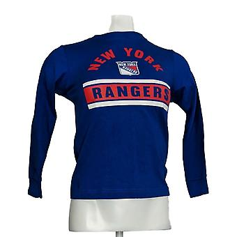 NHL Official Licenced Product Child's 6/7 Long Sleeves T-Shirt Blue R9001